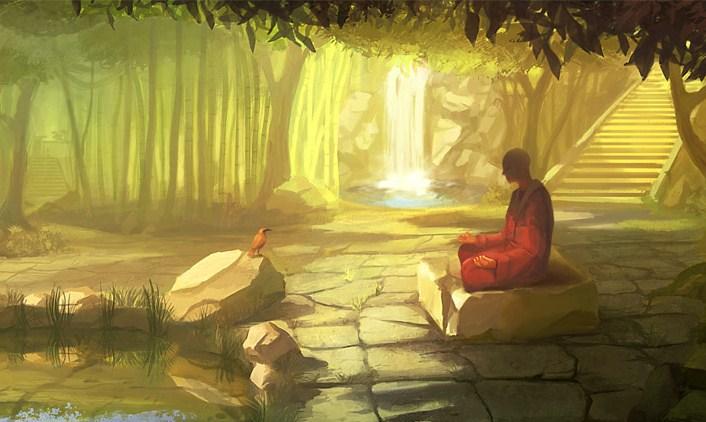 sri lanka buda bajo el bodhi