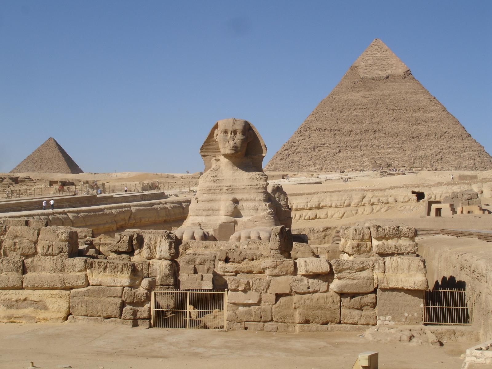 egipto piramides y esfinge