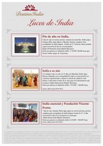BOOKING FAX Luces de India