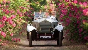 maharaja en coche