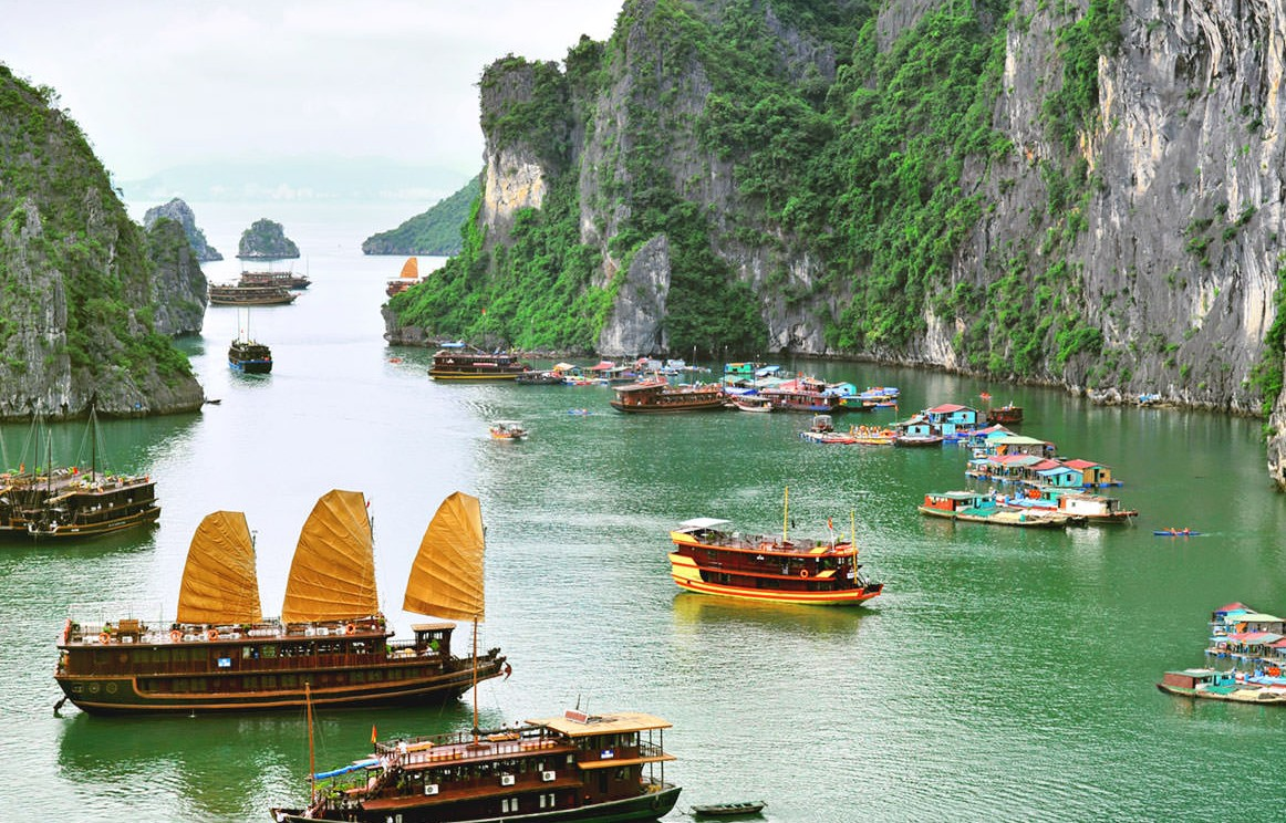 luna de miel en vietnam